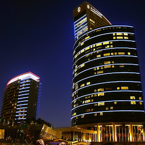 Dubai Intercontinental Hotel  by Elisa Abiog - Buildings & Architecture Other Exteriors