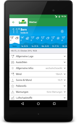 LANDI Wetter 3.2.7 screenshots 8
