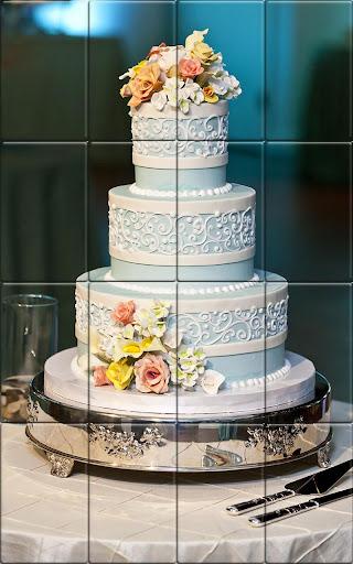 Tile Puzzle Wedding Cake apkpoly screenshots 1
