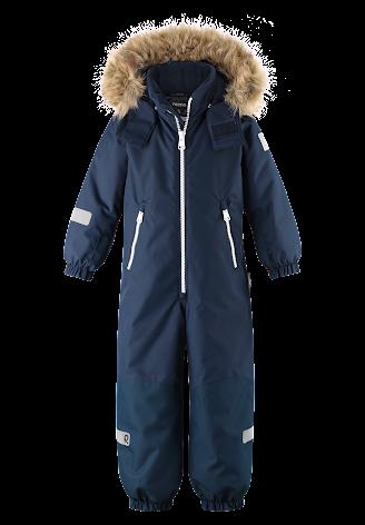 Reimatec Kiddo Krossfjorden 520269E-6980 Navy vinterdress