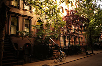 Photo: Summer in the City - Perry Street - Greenwich Village - New York City ---   You can purchase prints of this image here: http://goo.gl/Ihs2L
