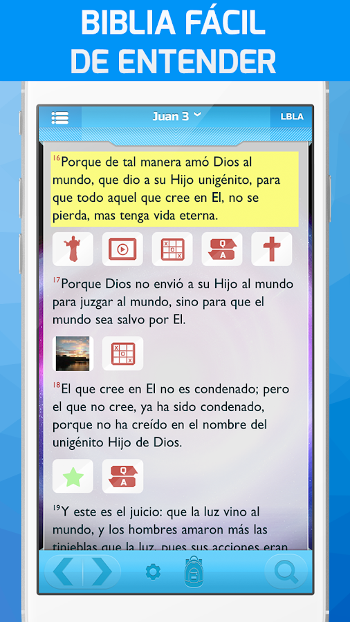 Biblia Superlibro,Video+Juegos: captura de pantalla