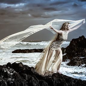 Lady Storm by Michael MacLachlan - People Fine Art ( dee, danica, white. )