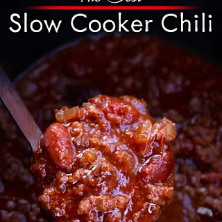 Slowcooker Chili.