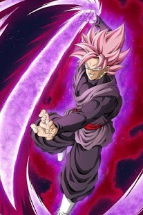 Black Goku Super Saiyan Rose HD - náhled