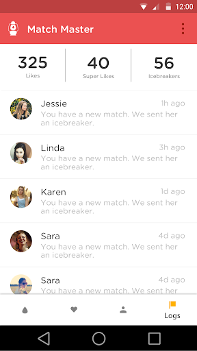 Code Triche Match Master for Tinder APK MOD screenshots 5