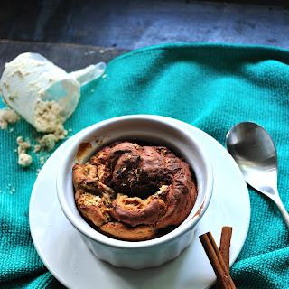 Banana Protein Souffle Muffin