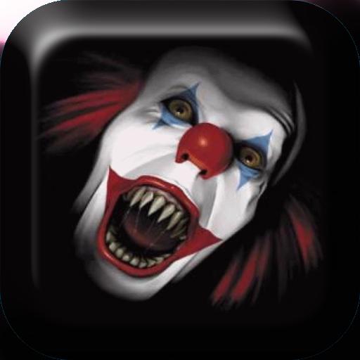 吓人的小丑动态壁纸 個人化 App LOGO-硬是要APP