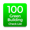 Green Building Check List 100 icon