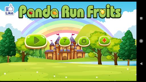 Panda Run Fruits screenshot 2