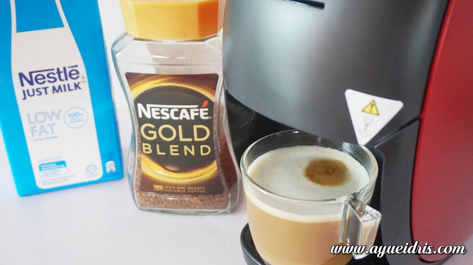 Nescafe Gold Barista Coffee Machine cara guna harga (43).JPG