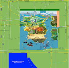 Photo: Equestria Map (Jlong Cities Project) V5 Temp  This is just a temp version of Version 5 of the map. There is parts if the official Equestria Map still on this file that will soon be drawn over so this can be my own map.