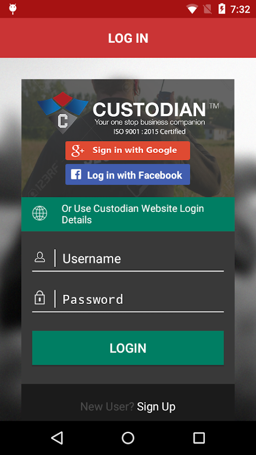 Custodian Safety & Security- screenshot