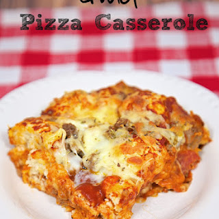 Pizza Casserole Without Pasta Recipes.