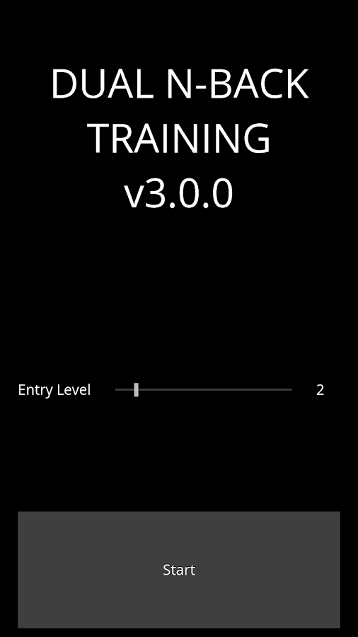 Dual N-Back Training- screenshot