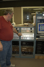Photo: The box Curt is pointing at is the frequency control/generator