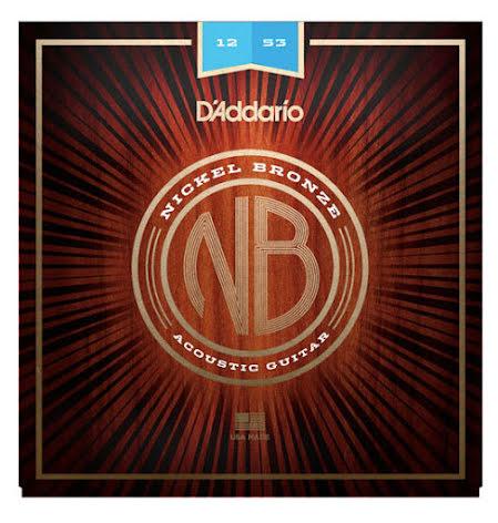 DADDARIO NB1253 Western Nickel Bronze 012-053