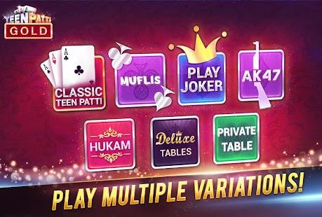 Teen Patti Gold - náhled