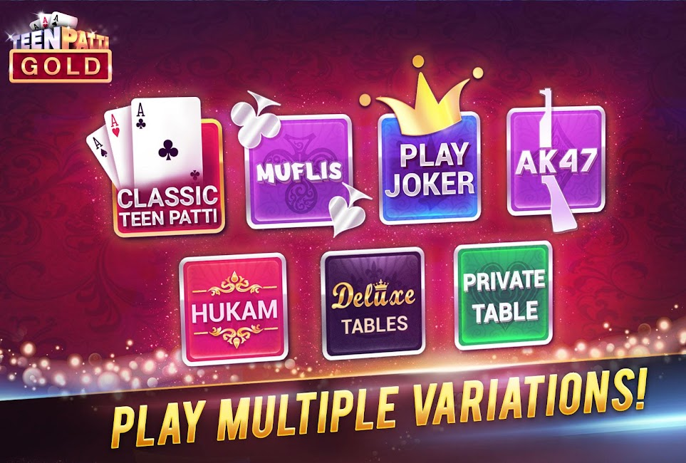 #3. Teen Patti Gold (Android)