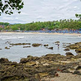 Ranca Buaya Beach by Mulawardi Sutanto - Landscapes Beaches ( garut, west java, ranca buaya, beach, travel )