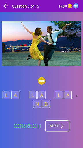 Guess the Movie from Picture or Poster — Quiz Game apklade screenshots 2