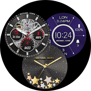 MK Access Watch Faces - náhled