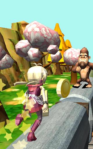 Télécharger Gratuit Teen Princess Dash - Subway Jungle Escape  APK MOD (Astuce) screenshots 1