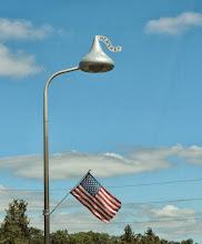 Photo: Hershey Kisses Street Lamps