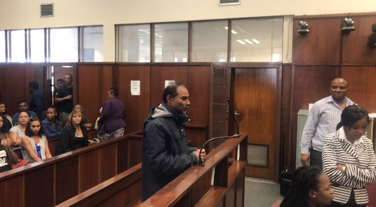 Mohammed Ebrahim, the man alleged to have abducted Sydenham schoolboy Miguel Louw in July, was granted bail of R2,500 in the Durban Magistrate's Court on August 29, 2018.