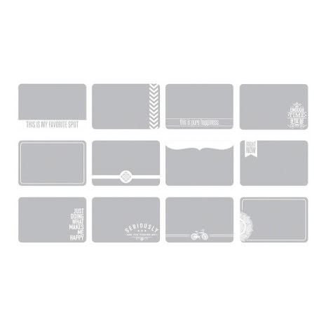 Project Life Photo Overlays 12/Pkg - Set #1 UTGÅENDE
