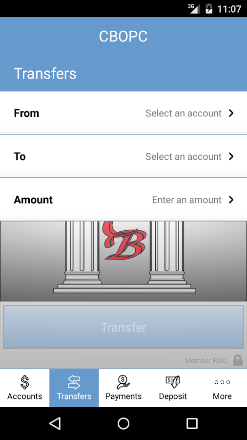 CBOPC Mobile Banking- screenshot