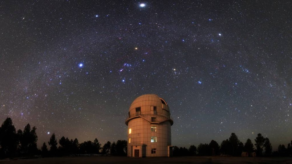 hanle indian astronomical observatory telescope stargazing leh ladakh_image
