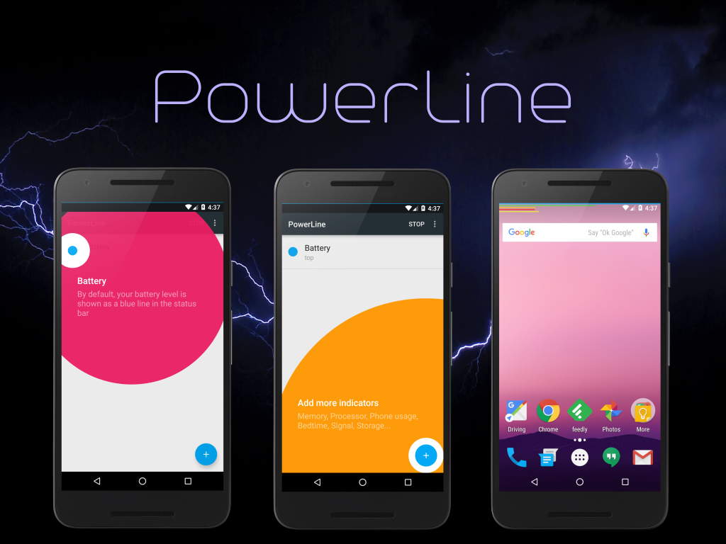 PowerLine PRO Unlock- screenshot