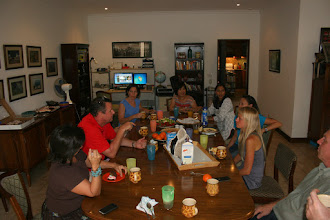 Photo: Meanwhile, the adults chow down on curry!