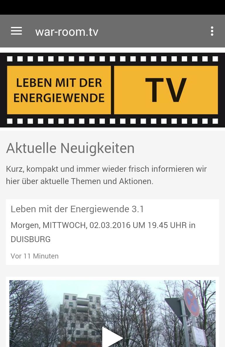 Скриншот Leben mit der Energiewende