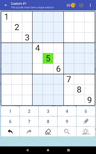 Sudoku Free - Classic Brain Puzzle Game screenshot 20