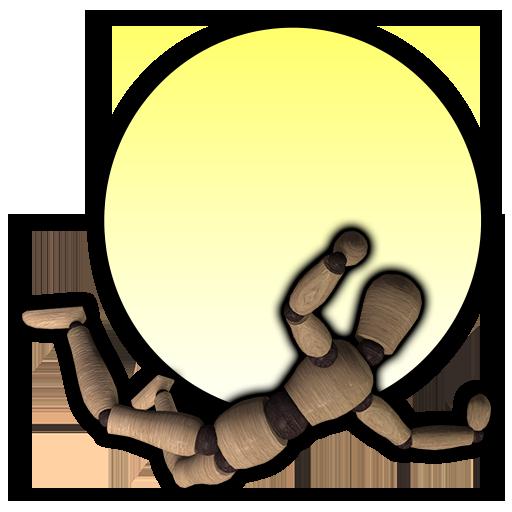 飞翔人体模型 休閒 App LOGO-硬是要APP