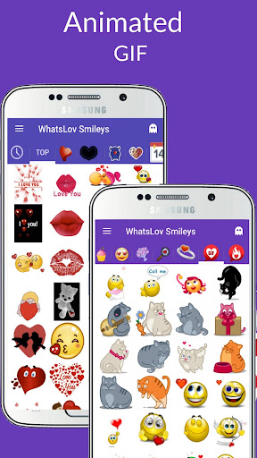 ud83dudc98 WhatsLov: Smileys of love, stickers and GIF 4.3.0 screenshots 6