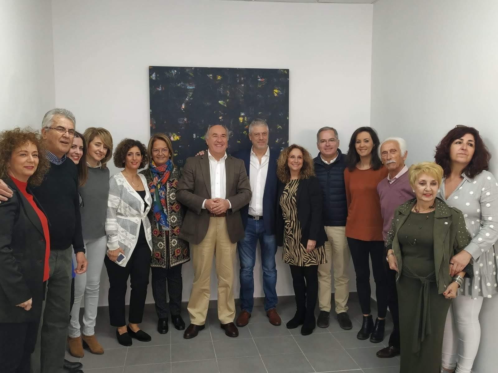 Inaugurado el Art Atelier de Antonio Camba en el Barrio de la Caridad