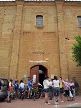 Photo: Recepción en el albergue de peregrinos