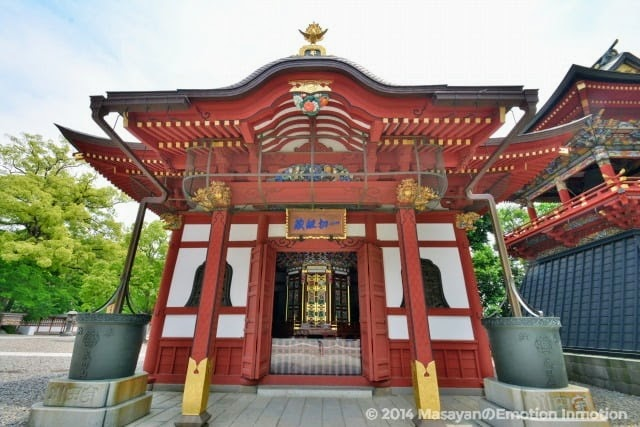 成田山新勝寺の一切経堂
