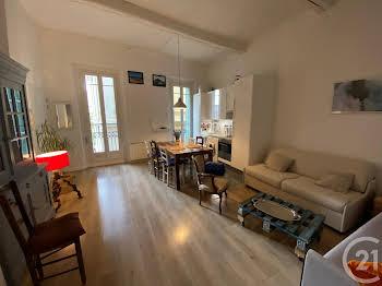 Appartement meublé 2 pièces 41,5 m2