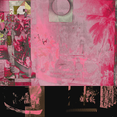 <p> Travel In The Age of Cultural Production - Mixed Media/Projection on Wall</p>