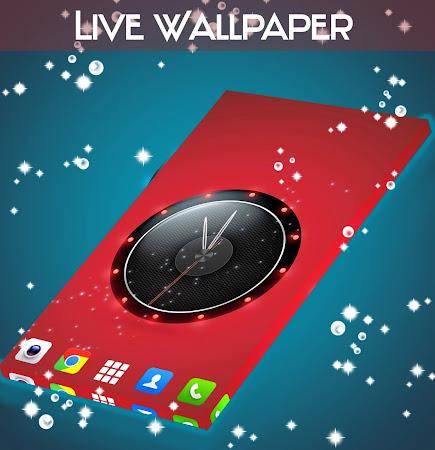 Live Wallpaper Clock for HTC 1.231.1.77 screenshot 2092425