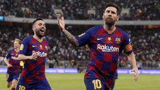 Messi seguirá en el Barcelona hasta 2021.