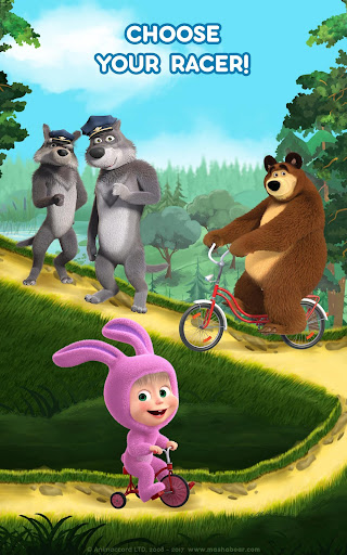 Masha and the Bear: Climb Racing and Car Games 0.0.3 screenshots 10