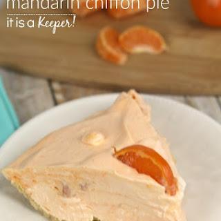 No Bake Mandarin Chiffon Pie