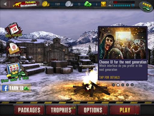 Zombie Frontier 3: Jeu de Tir  captures d'u00e9cran 14