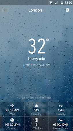 Best Galaxy Live Weather Widge 7.2.9.d_release screenshot 620469