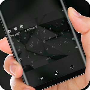 Simple Black Keyboard Theme for HUAWEi Wallpaper